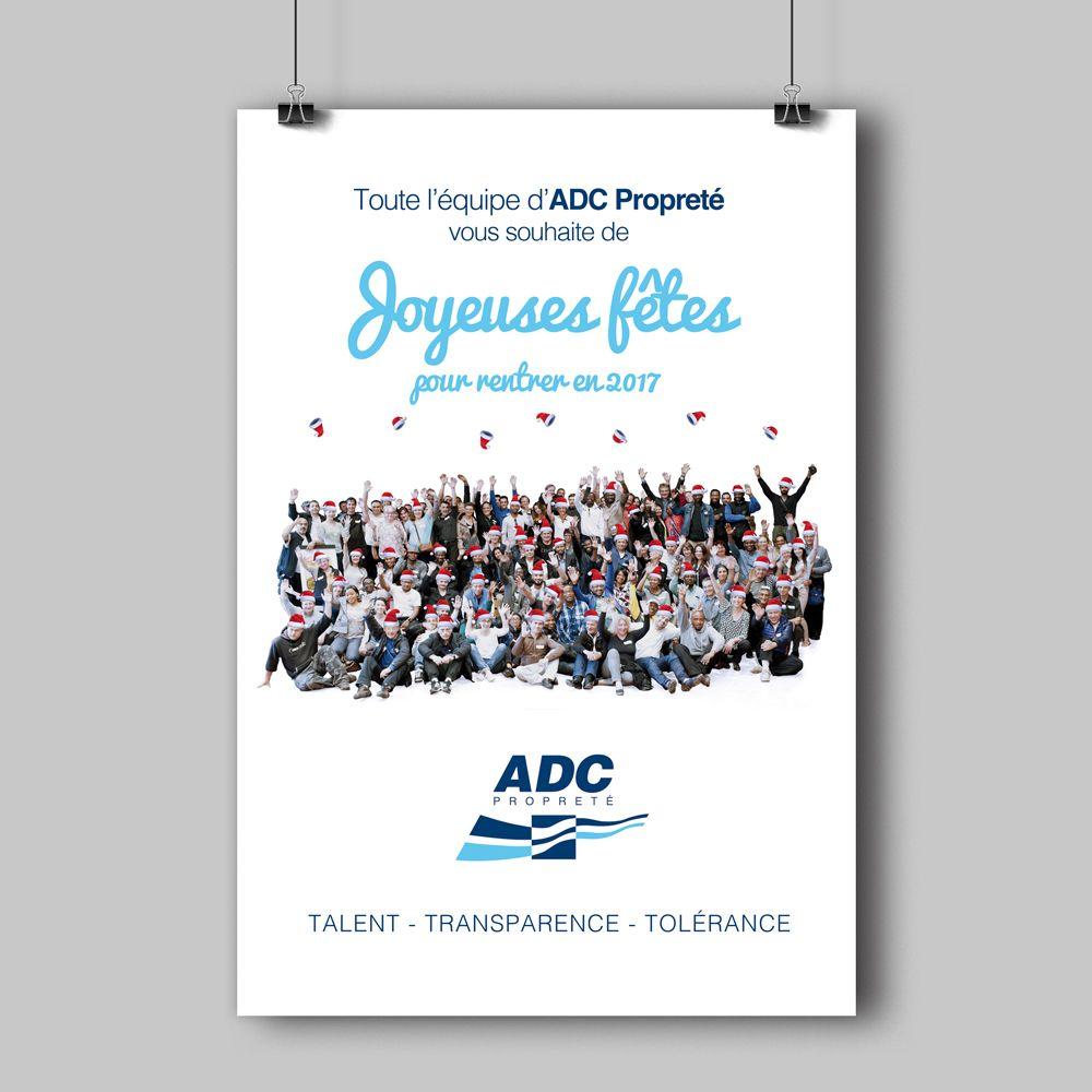 Découvrez mon projet @Behance: «Carte de Vœux 2017 - ADC Propreté» https://www.behance.net/gallery/44835609/Carte-de-Vux-2017-ADC-Propret