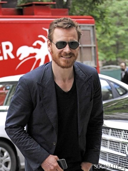 Hollywood's Finest Beard Owners | Socialite Life - Fassbender