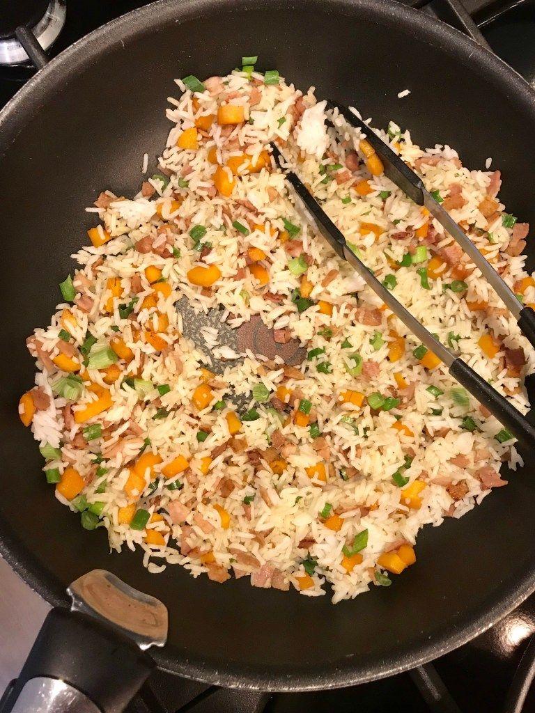 riz cantonais recette saine et quilibr e mes brouillons de cuisine recettes de cuisine en. Black Bedroom Furniture Sets. Home Design Ideas