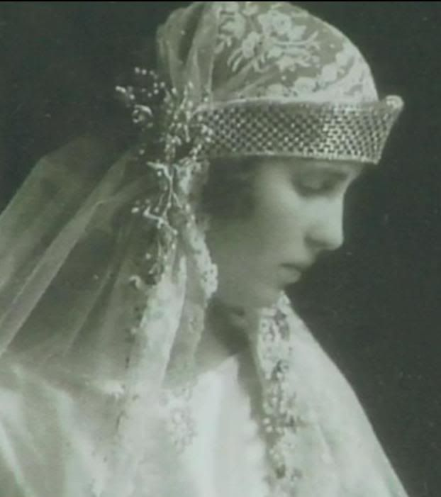 Real Greek Weddings: Princess Olga Of Greece And Denmark In The Day Of Her