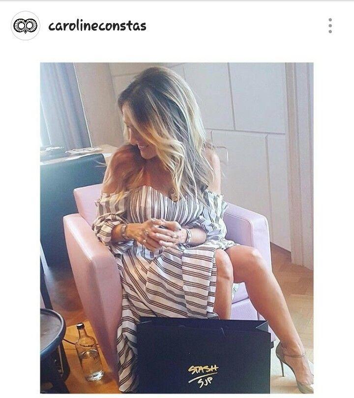 My girl SJP in Caroline Constas
