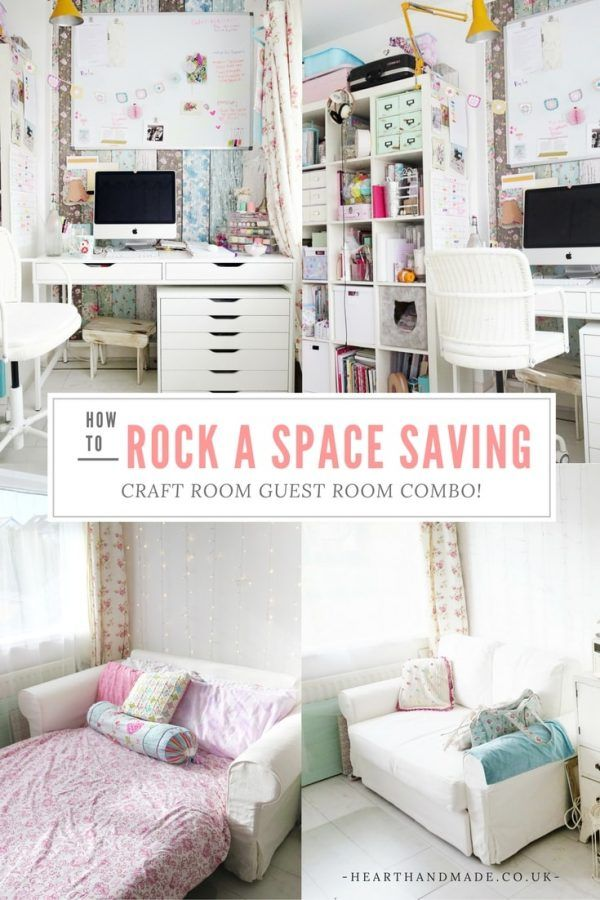 How To Rock A Creative Craft Room Guest Room Combo Studio Ideas