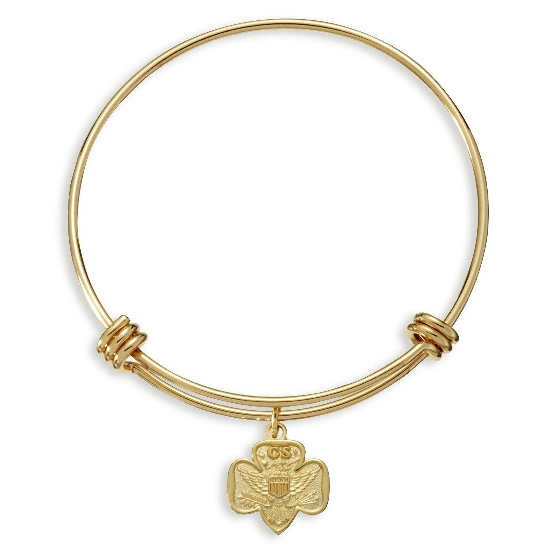 Bangle charm bracelet girl scout online store pinterest bangle