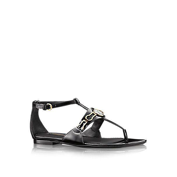 Wynwood Flat Sandal - Shoes   LOUIS VUITTON