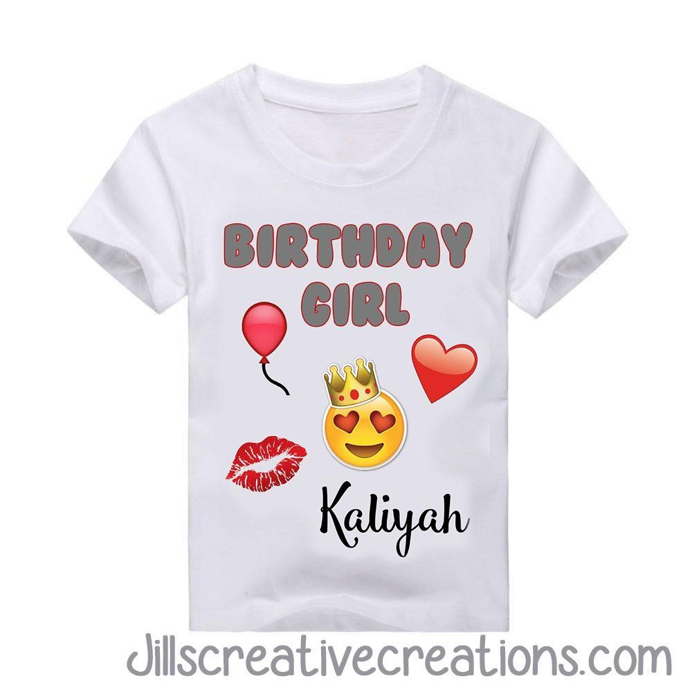 Emoji T Shirt If You Have Any Questions Placing An Order Please Feel Free To Contact Us Jillsinvitationsgmail TODDLER SIZE CHART YOUTH ADULT