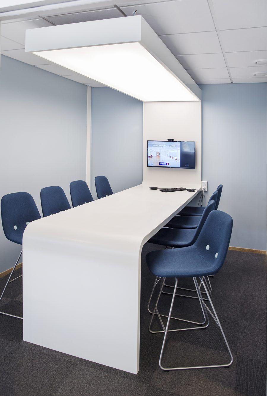 Sparebank 1 Porsgrunn Meeting Room Design By Iark Photo By Yvonne Wilhelmsen Meetingroom Conferanceroom Collabor Kontorinnredning Designer Kontordesign