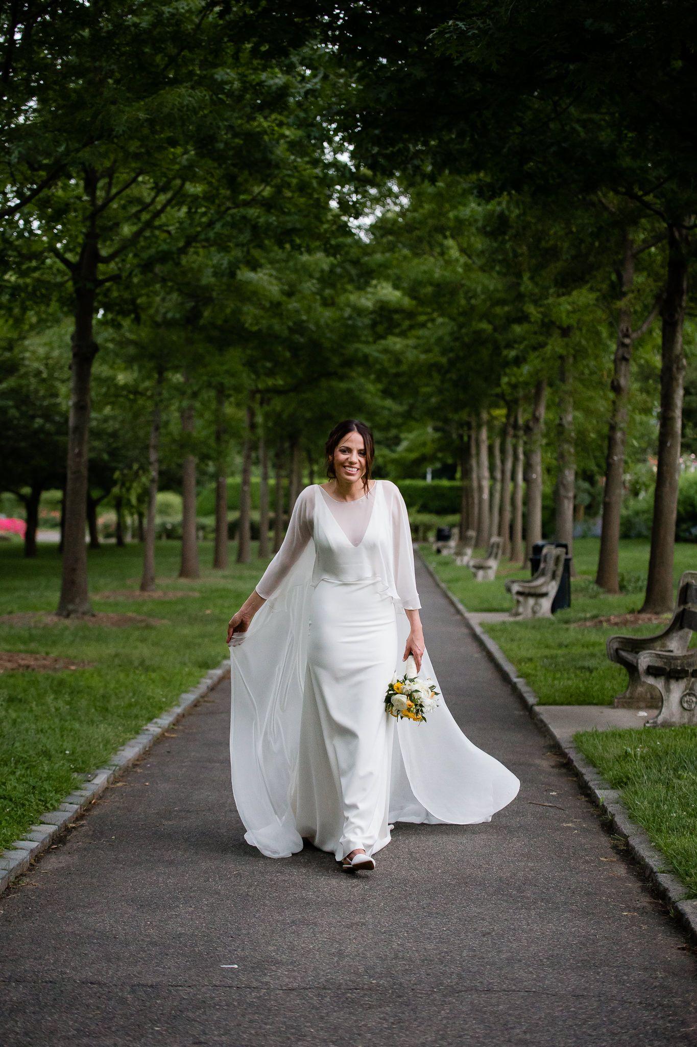 Brooklyn Botanic Gardens Wedding Yasmin and John Sarah