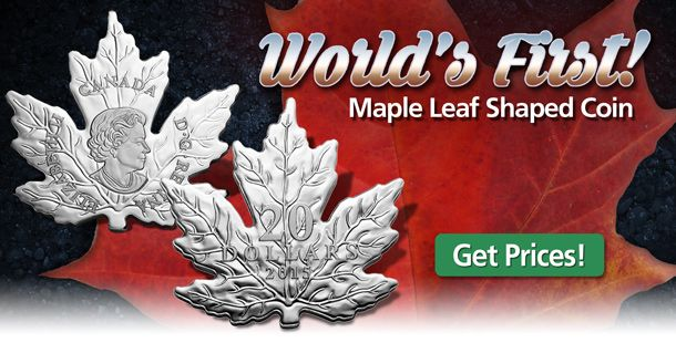 MCM on eBay: Maple Leaf Shaped Coins Back in Stock - Sold Out at the ...