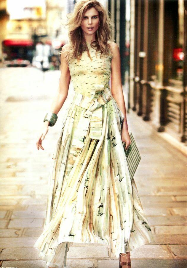 Duchess Dior: Amparo Bonmati in Haute Couture for Hola! Magazine May 2015