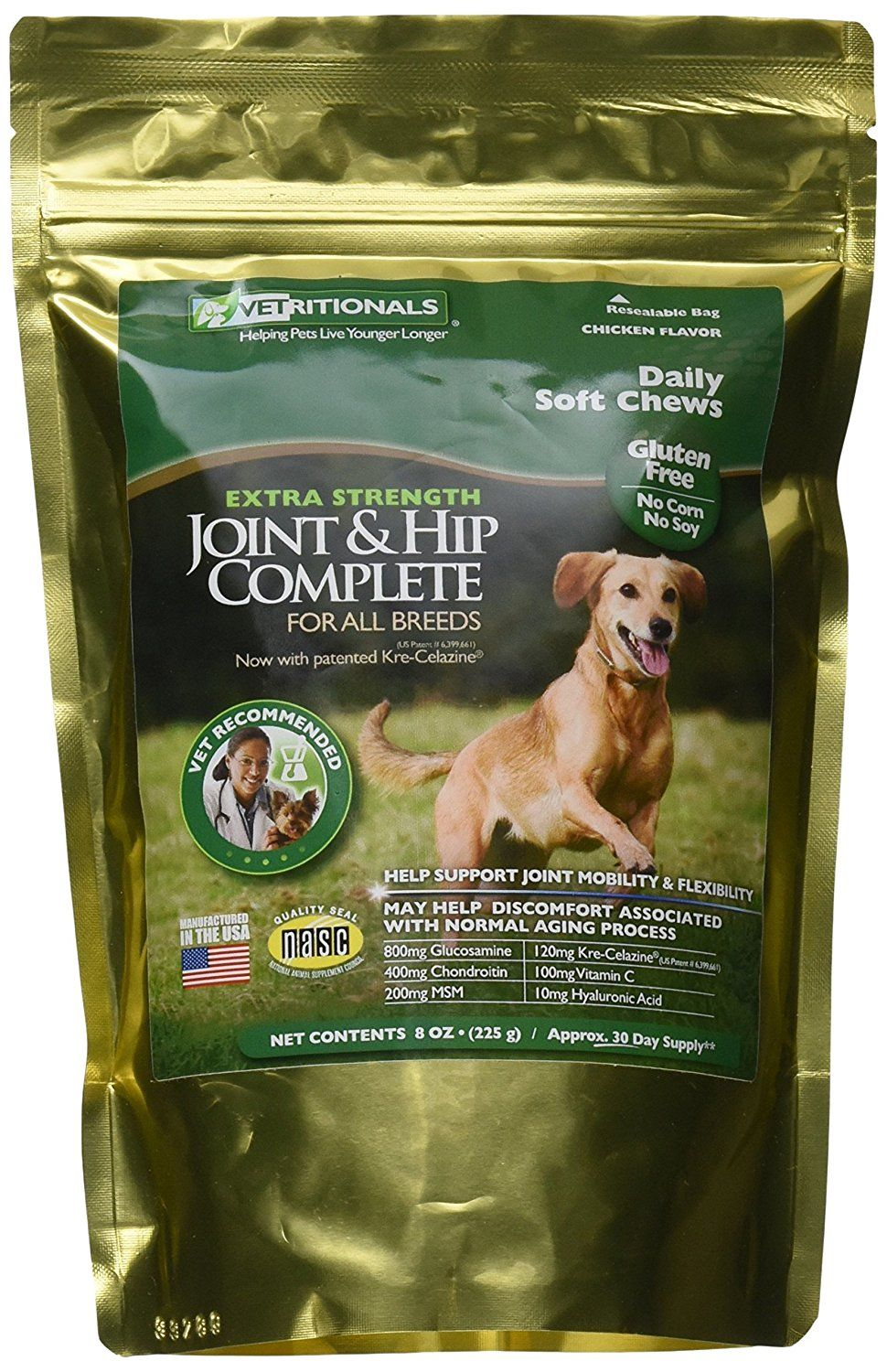 Vetritionals Joint And Hip Complete Daily Therapeutic Soft Dog
