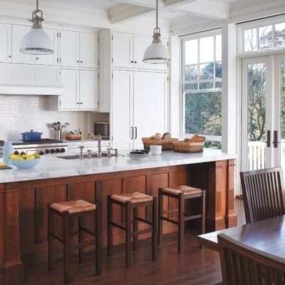 Best 10 Inspiring Kitchens With Wood Cabinets And White 640 x 480