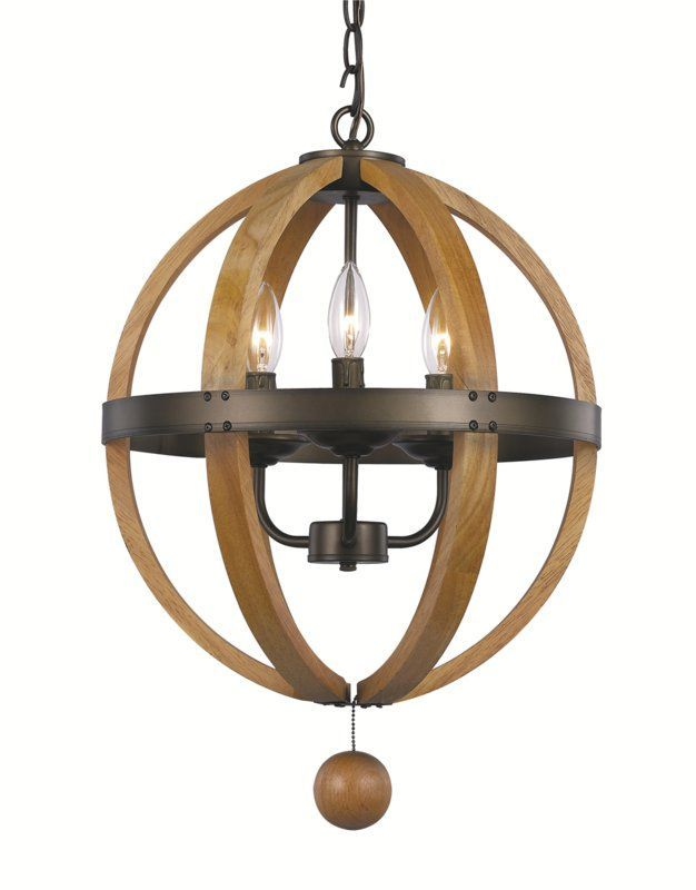 So Many Possibilities I Like The Combo Of Metals Here Gangly Ball At Bottom View Trans Globe Lighting 70600 Forest Home 3 Light