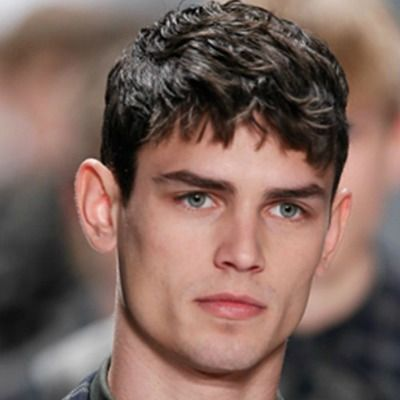 Beautiful Mens Hair Short Fringe Hairstyle