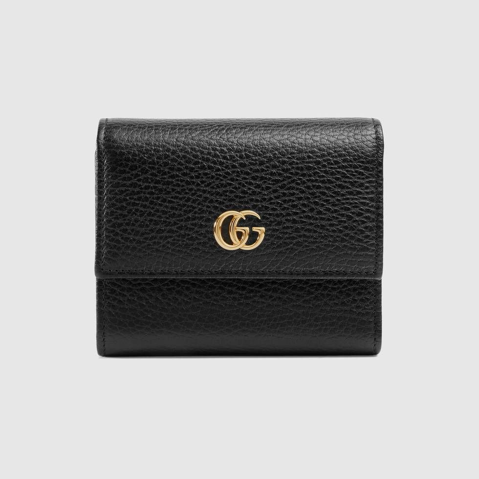 4d2dc8a87a01c Shop the GG Marmont leather wallet by Gucci. The GG Marmont small wallet  has a