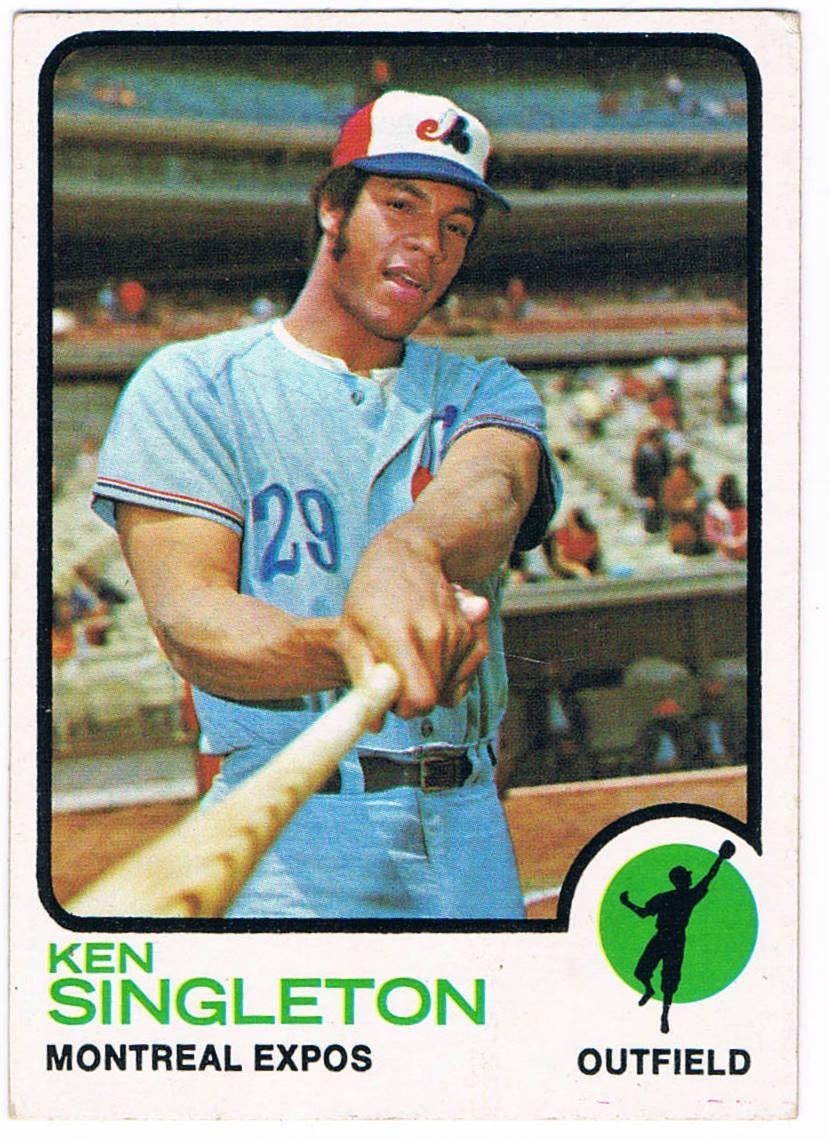 KEN SINGLETON Expos montreal, Famous baseball players, Expos
