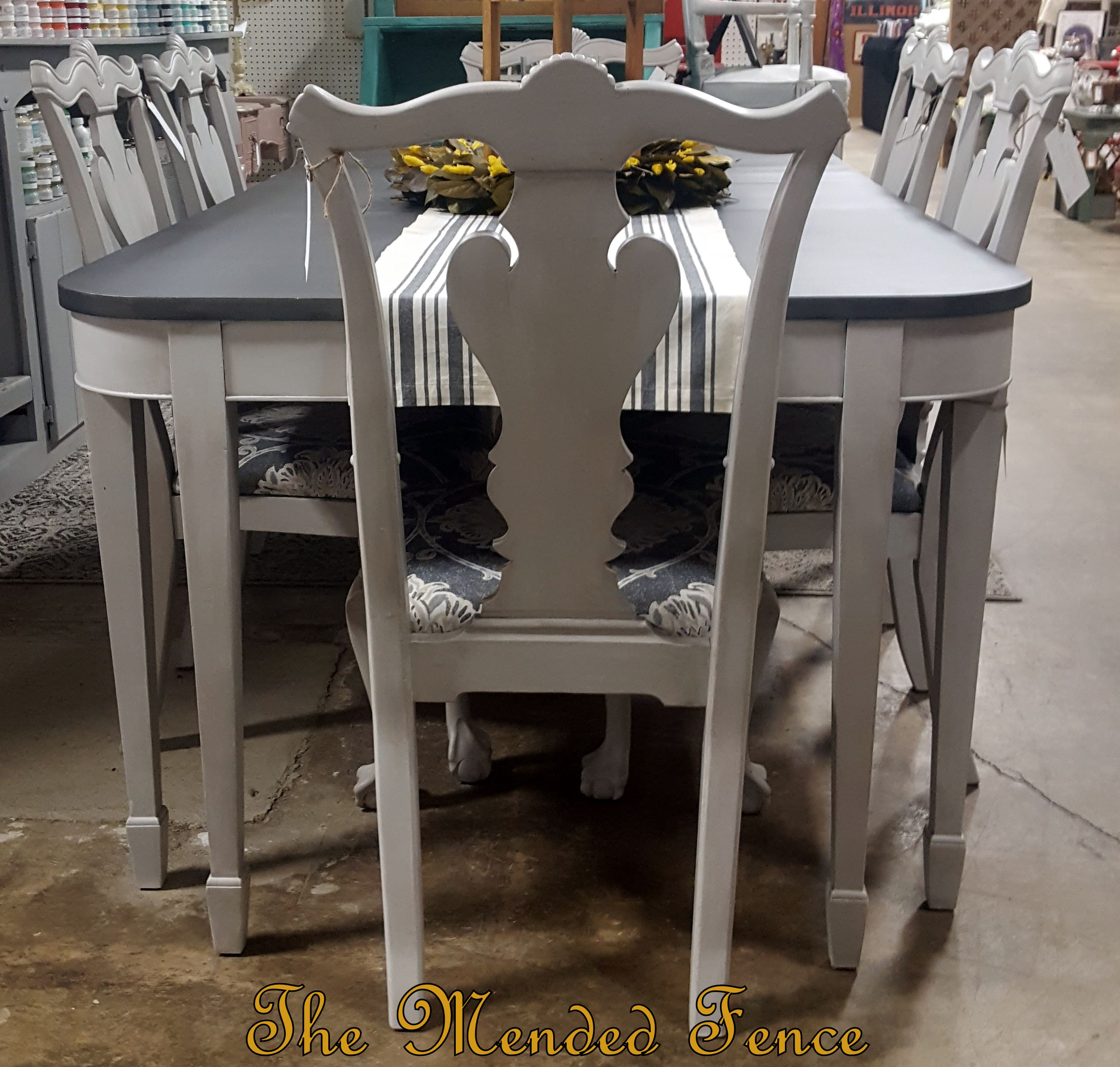 Pin By Kenee Littlefield Borchardt On For The Home Painted Dining Table Painted Kitchen Tables Furniture