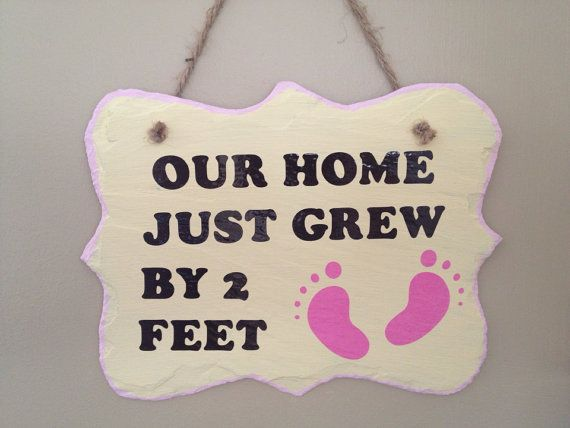 Welcome Baby Sign By JensCoastalCreations On Etsy