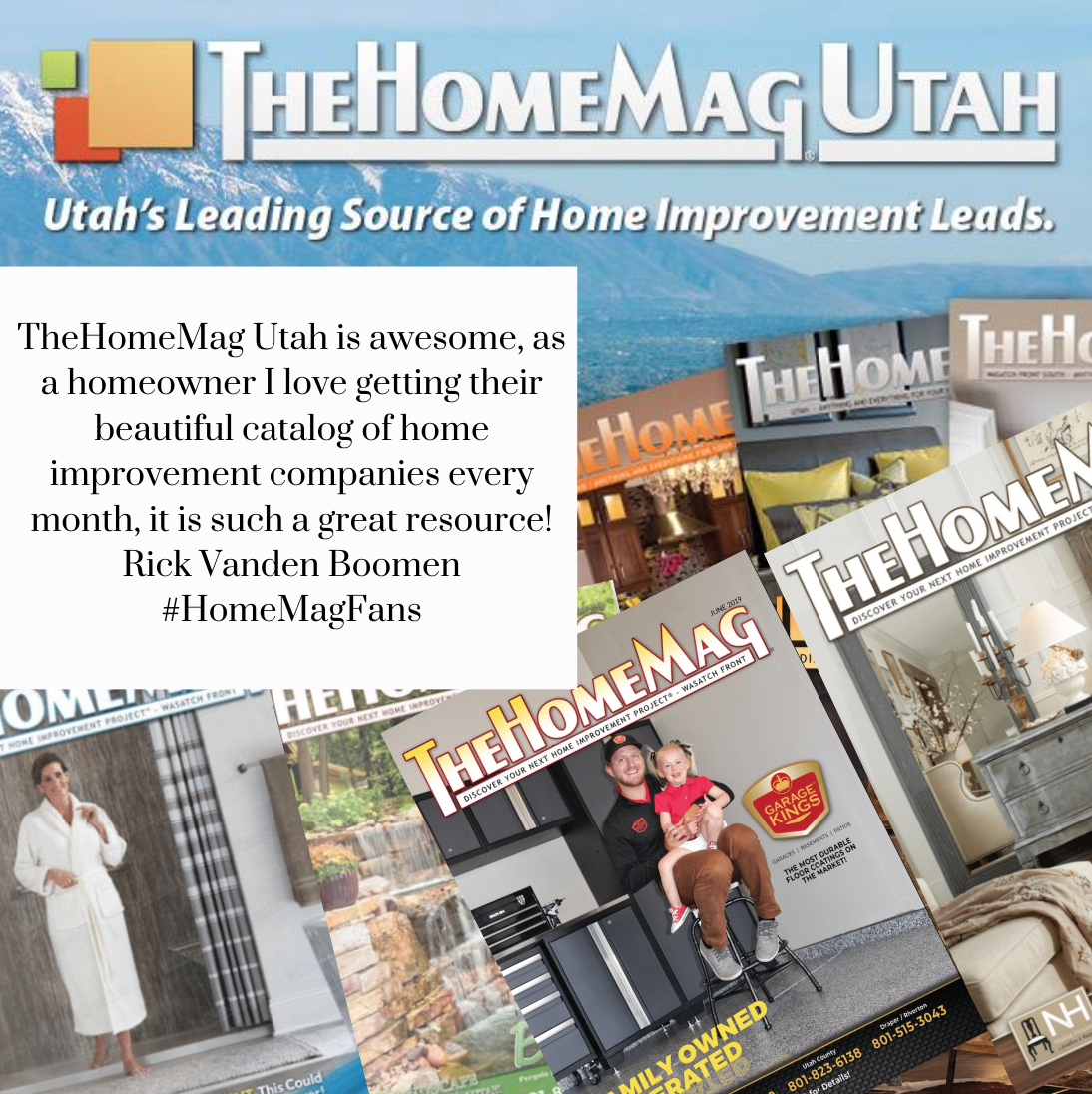 We love to see happy HomeMag customers ! Make sure you're subscribed to TheHomeMag Utah today! Don't miss out on all the amazing home owner information. #homeprofessionals #homemagazine  . . . . . #inspiration #designer #style #homestyle #instahome #interiorinspo #homesweethome #livingroom #handmade #interiorstyle #homeinspo #kitchen #interiordecorating #homemagazine #homeprofessionals #community #localbusinesses #supportlocalbusinesses