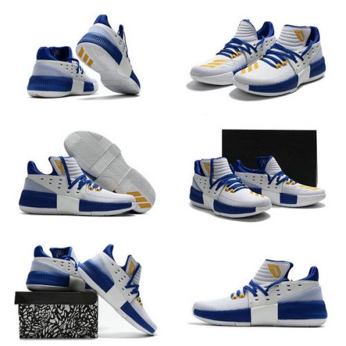 best service 65a0c 702fd Where To Buy Dame Lillard 3 Adidas New Colorway White Photo Blue Sonic  Yellow