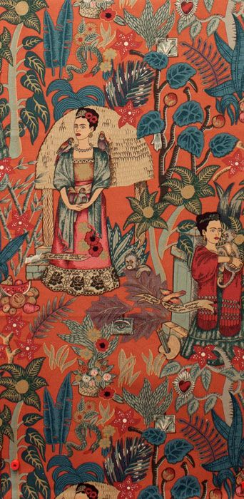 Frida's Garden Upholstery fabric from Alexander Henry - Collections