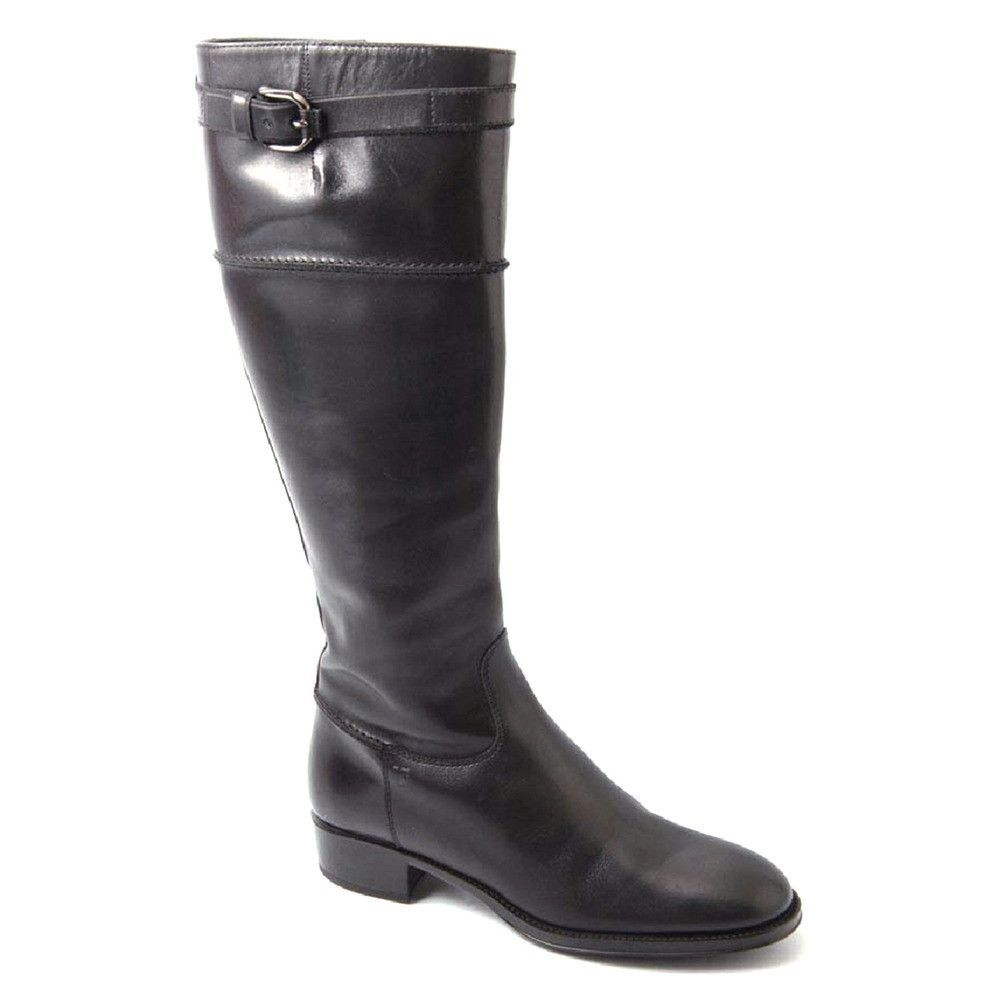 Black 41 EUR - 9.5 US (273mm) Tods ladies high boot XXW0OF0C680VAEB999