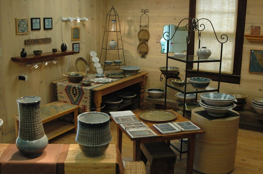 In the Shop - Jacob Preston Pottery
