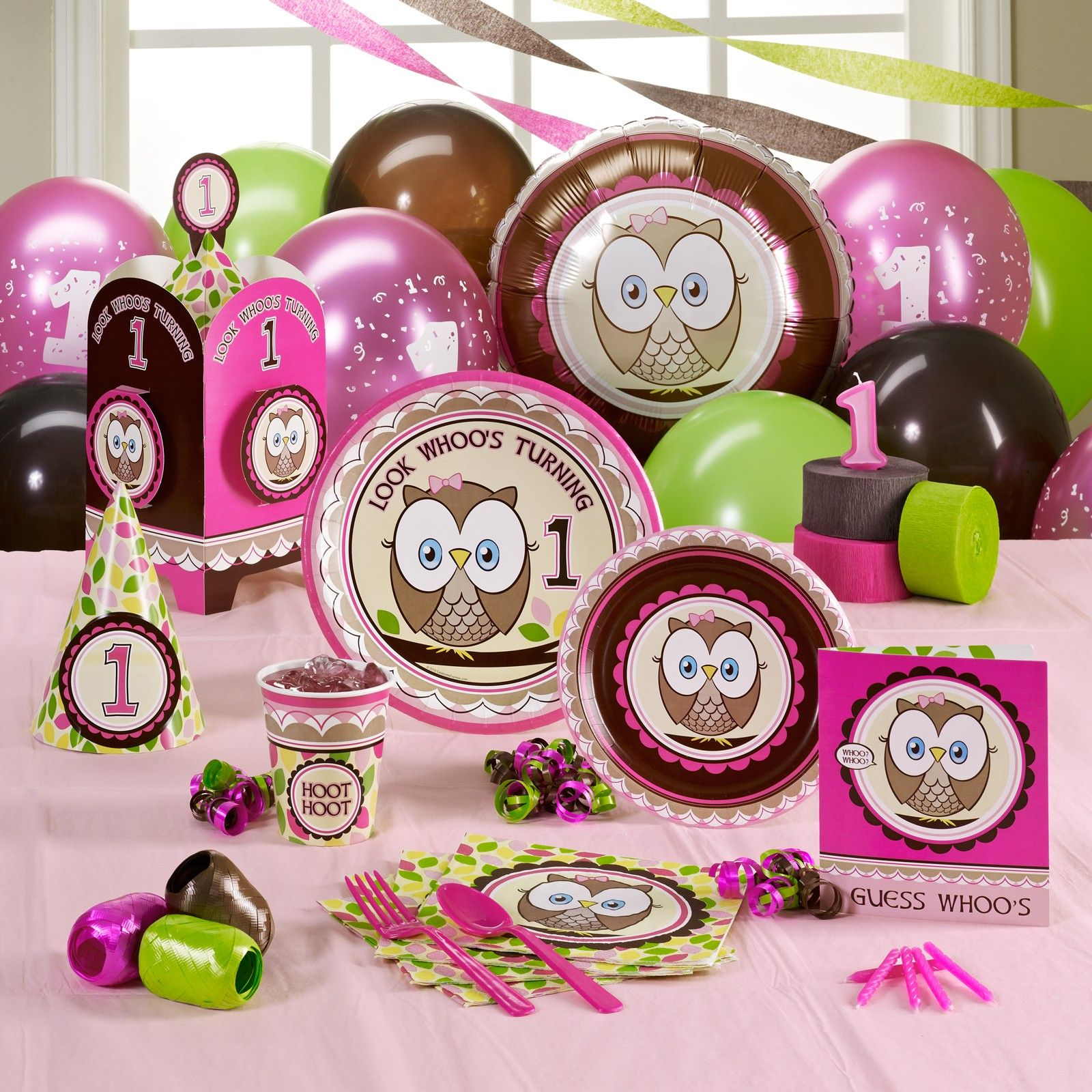 Party theme and supplies birthday fun Pinterest Owl parties