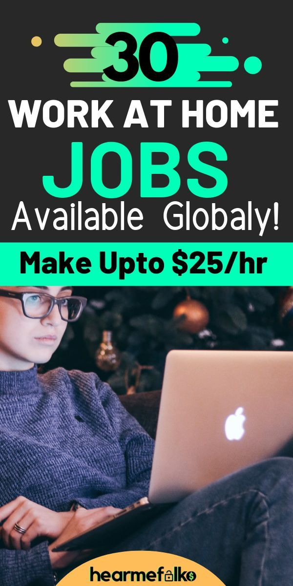 30 Best Global Work from Home Jobs [2019] #Jobs #Work #Home