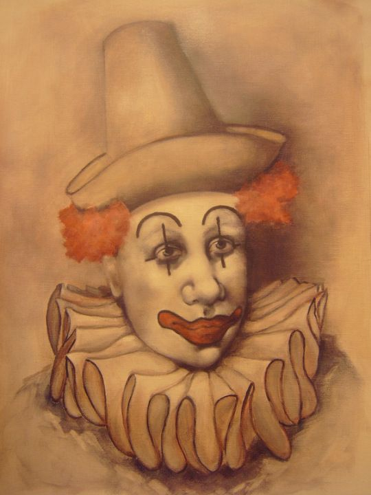 Pin by Nancy D'Emilio on Clowns    in 2019 | Clown paintings