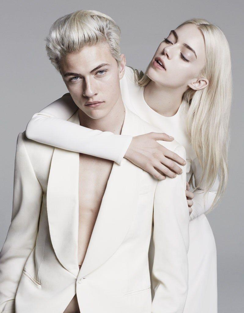Девушка и парень блондины фото хиппи