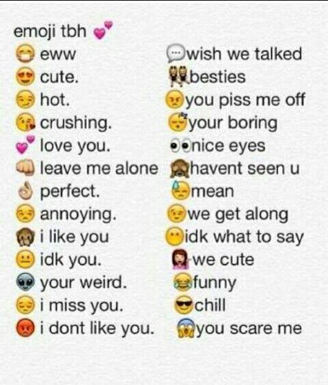 Pin by i like ur eyez on Cool Things! | Emoji tbh, Emoji ...