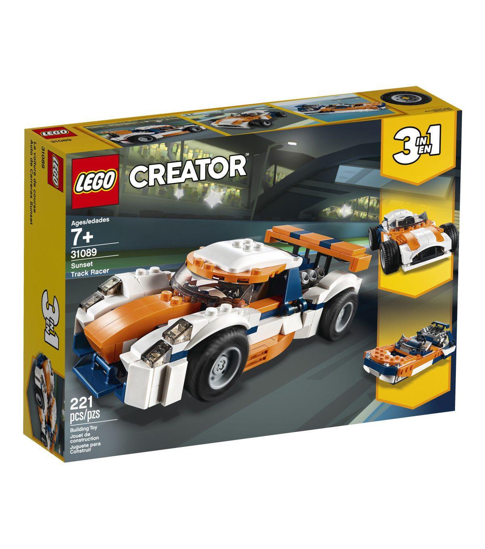 LEGO Creator 3 in 1 Sunset Track Racer Set Lego creator