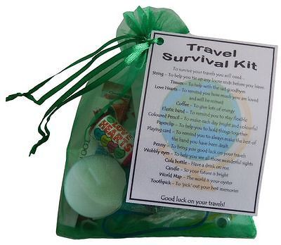 A Unique Fun Novelty Gift /& Keepsake ! Road Trip Survival Kit NEW