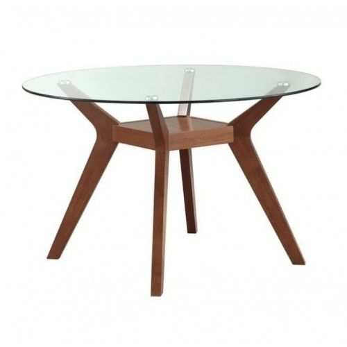Coaster Furniture Paxton Round Glass Dining Table 122180