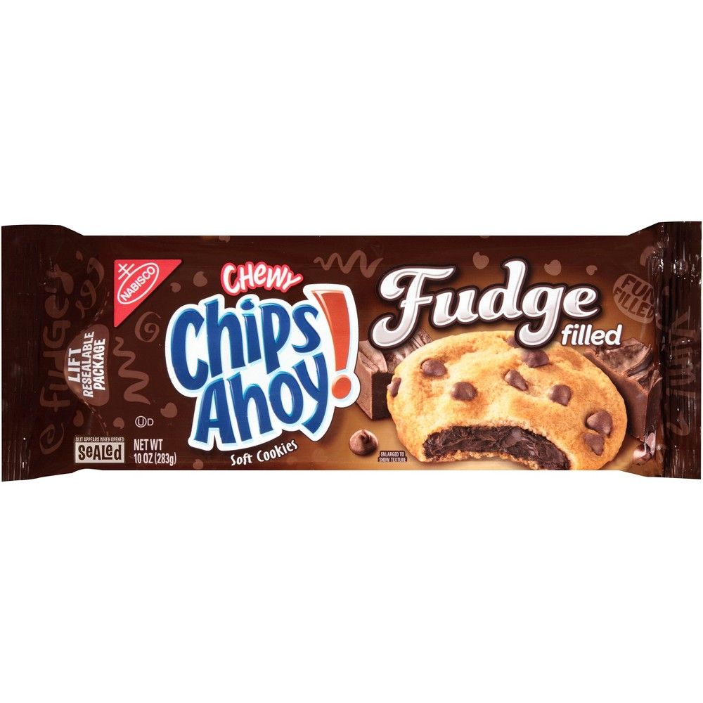 Chips Ahoy! Gooey Choco-Fudge Filled Soft Cookies