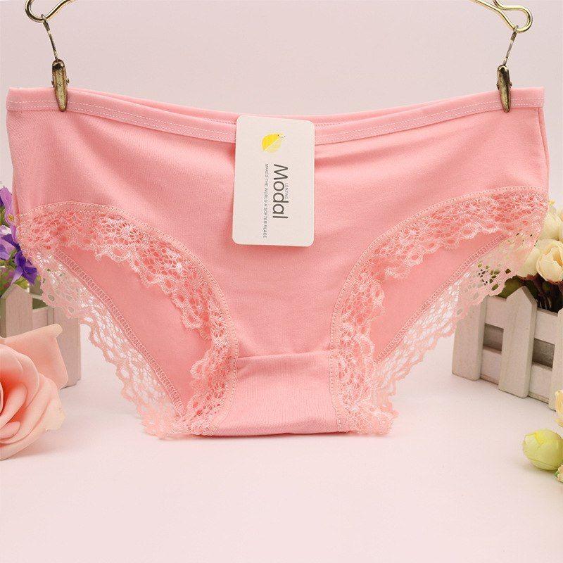 3166df497 Hot Sale Women s Fancy Lace Panties Seamless Panty Briefs High Quality  Fashion Cotton Low Waist Underwear