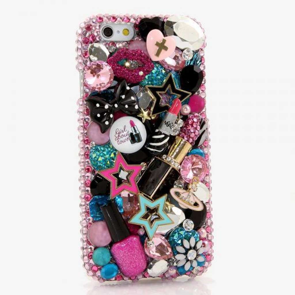 Imagen relacionada | Crystal phone case, Bling phone cases, Crystal iphone
