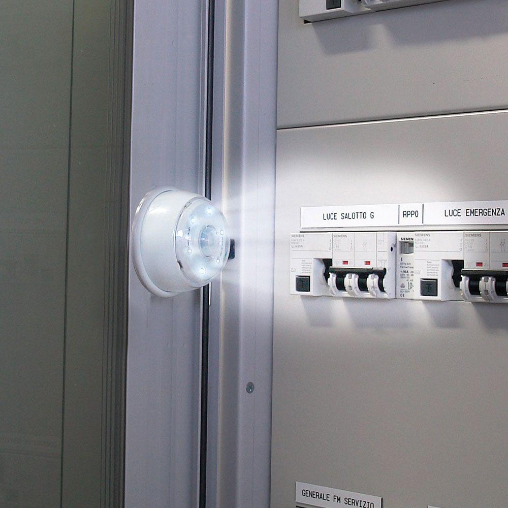 Luce 6 LED con sensore Led, Quadro elettrico e