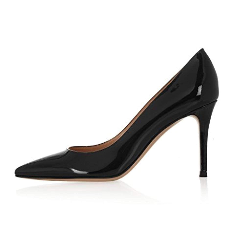 4ad54dcd091218 EDEFS Escarpins Femme – Chaussures à Talons Hauts – Bout Pointu fermé – Classique  Bureau Soiree