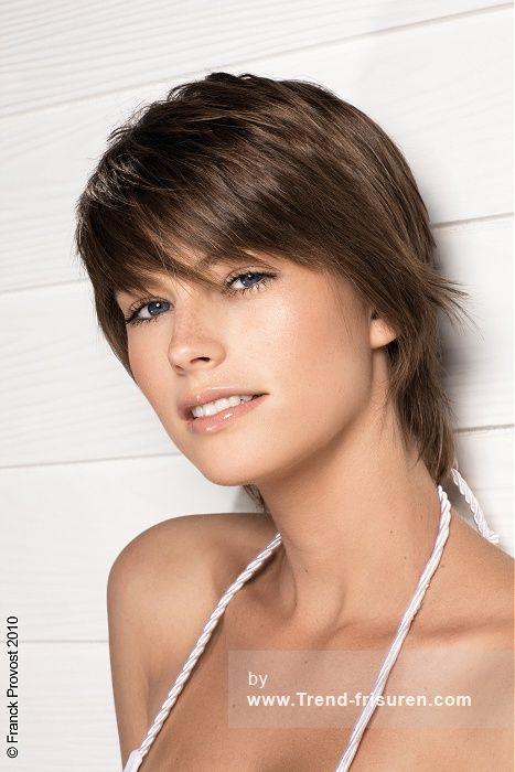 Frisuren halblang weiblich