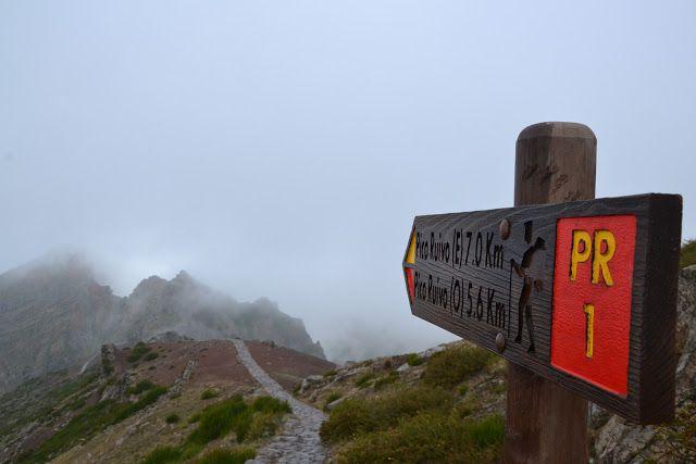 Reissaajan muistot: Pico Arieiro vai 25 fontes vai sittenkin Ponta do Sol