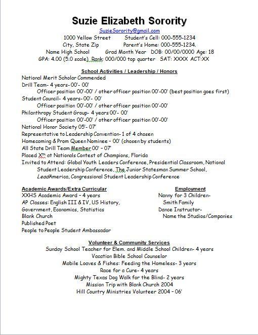 Rush  - ministry resume