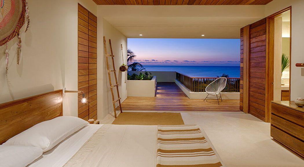 Superbe villa contemporaine à louer avec magnifique vue sur la côte mexicaine