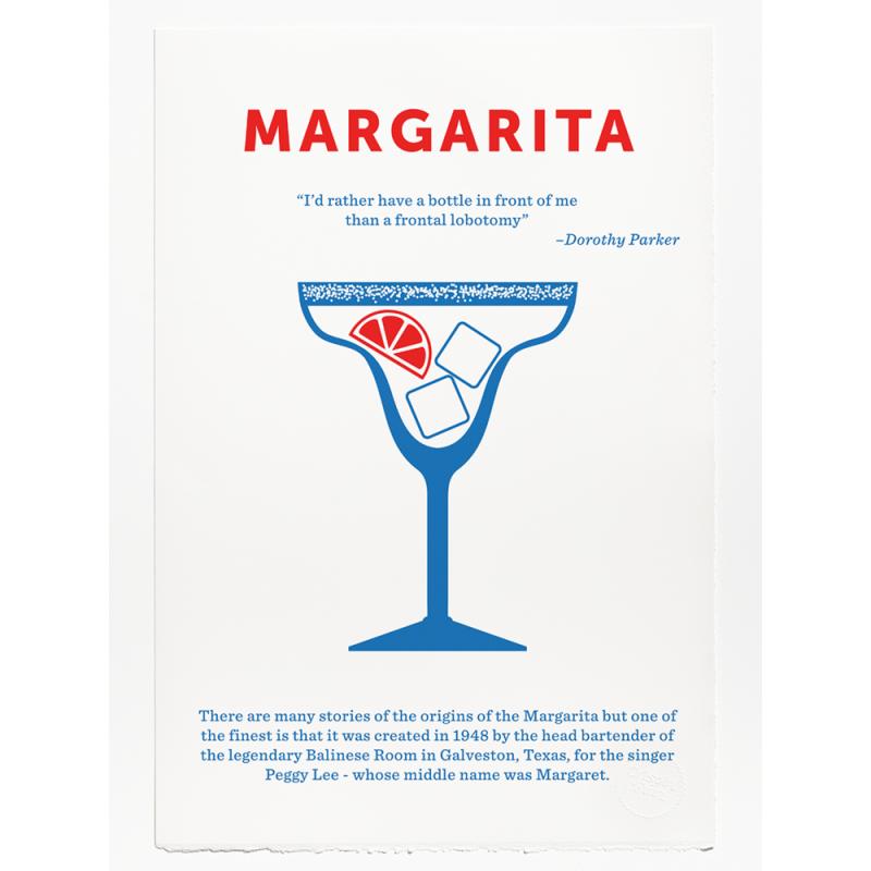 Margarita Print - screen print by Crispin Finn at Soma Gallery, Bristol