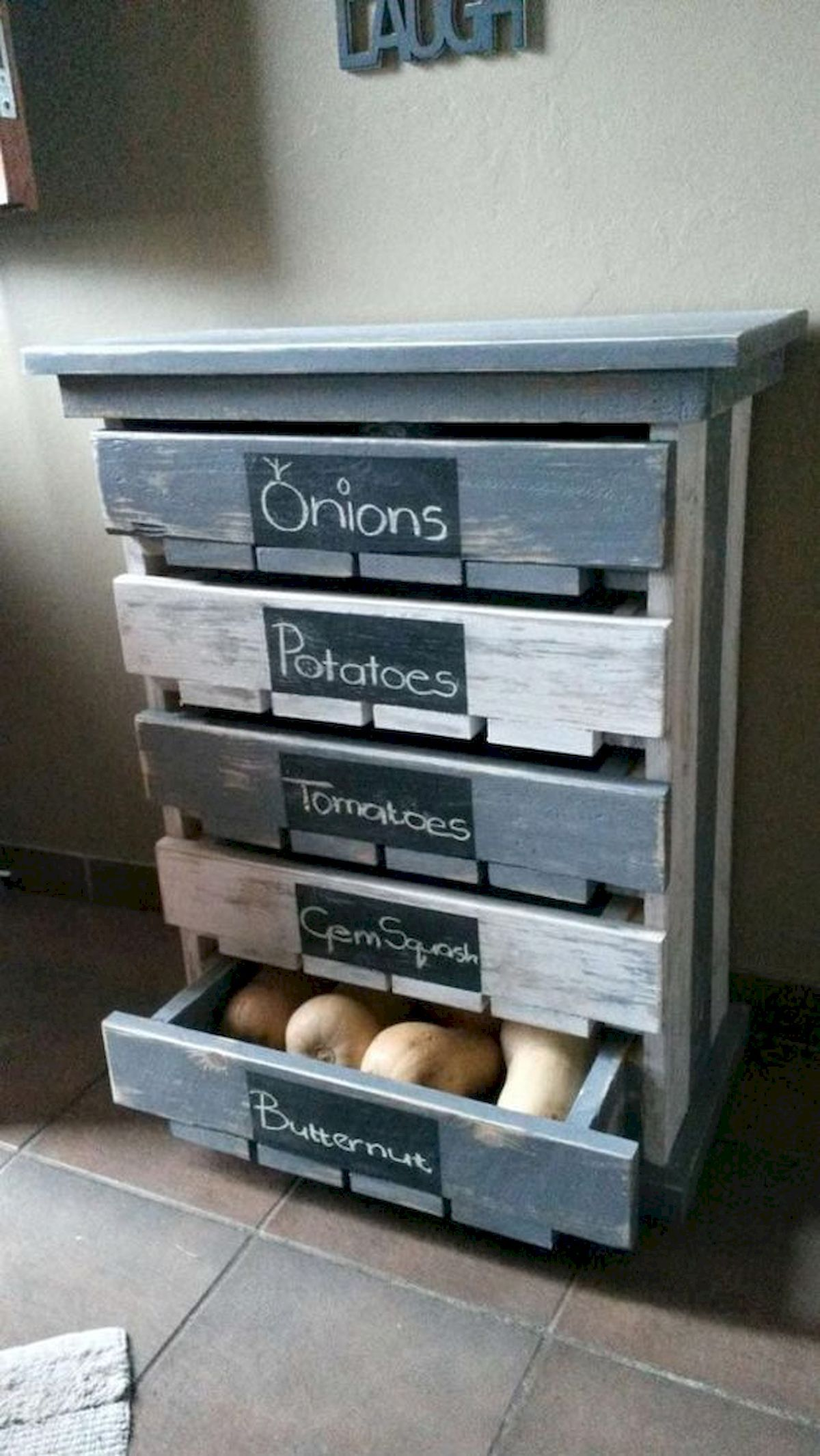 80 Awesome DIY Projects Pallet Shelves and Racks Design Ideas #palletideas