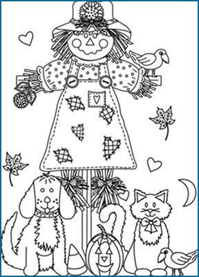 17 Best images about Halloween/Fall coloring pages on Pinterest ...