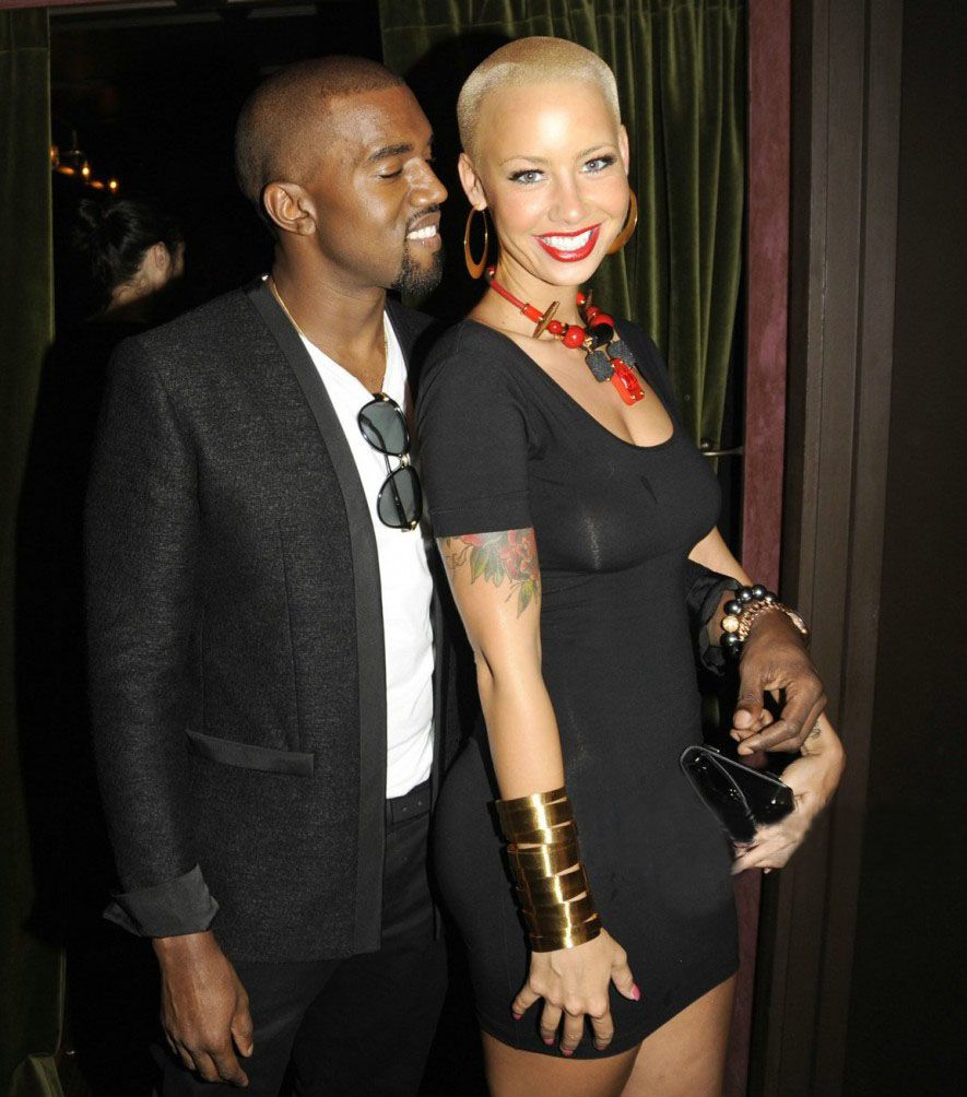 Kanye West & Amber Rose Kissing Compilation www.wikilove