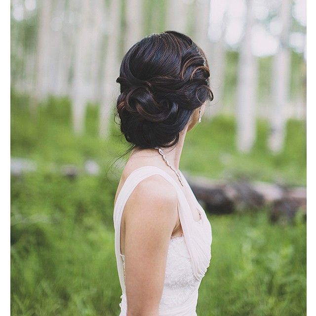 """""""Throw back to this bride who is on the cover of the most recent issue of @utahvalleybride. Her wedding was amazing! #hairandmakeupbysteph PC: @alixann_loosle_photography"""" Photo taken by @hairandmakeupbysteph on Instagram, pinned via the InstaPin iOS App! http://www.instapinapp.com (05/28/2015)"""