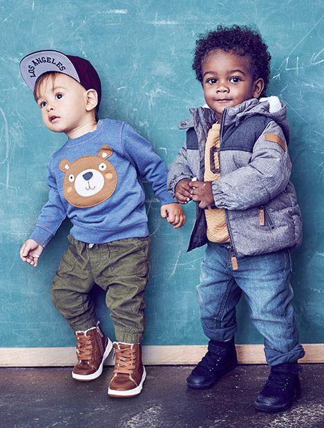 Ninos Bebes Ninos De 4 A 24 Meses H M Mx Outfits Ninos Moda