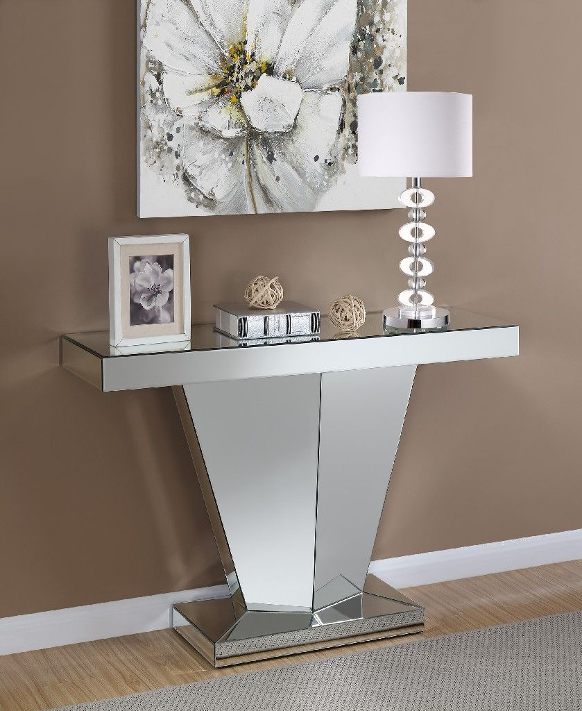 Gorgeous French Carved Console Table In Silver Affordable Luxury